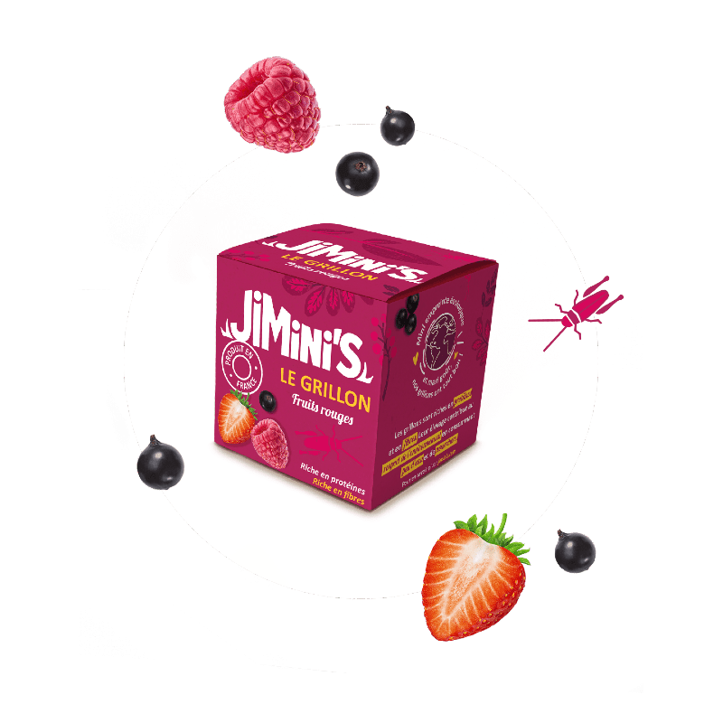 Grillons fruits rouges