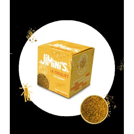 Criquets curry jaune