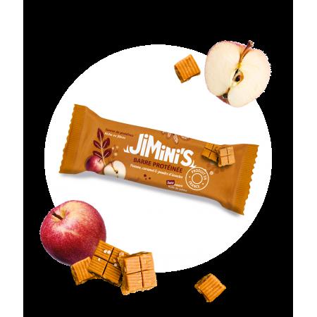 Barre protéinée pomme, caramel & poudre d'insectes