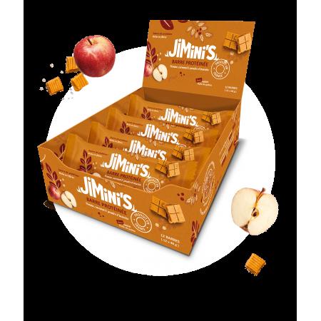 Barres protéinées pomme et...