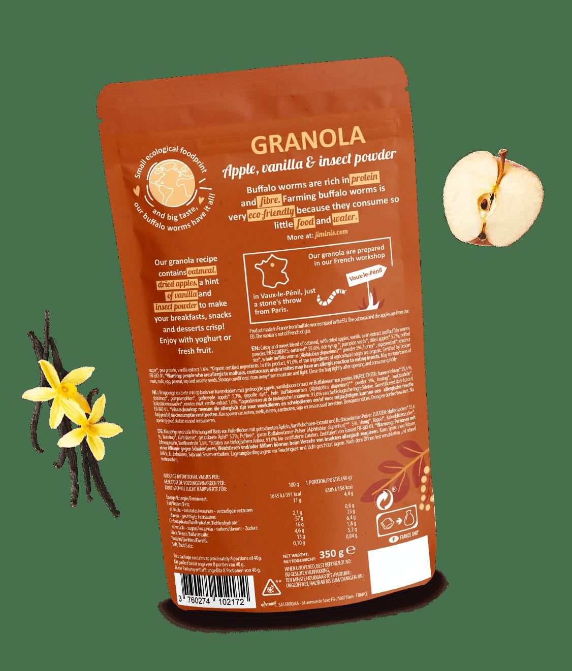 Granola Apple & vanilla