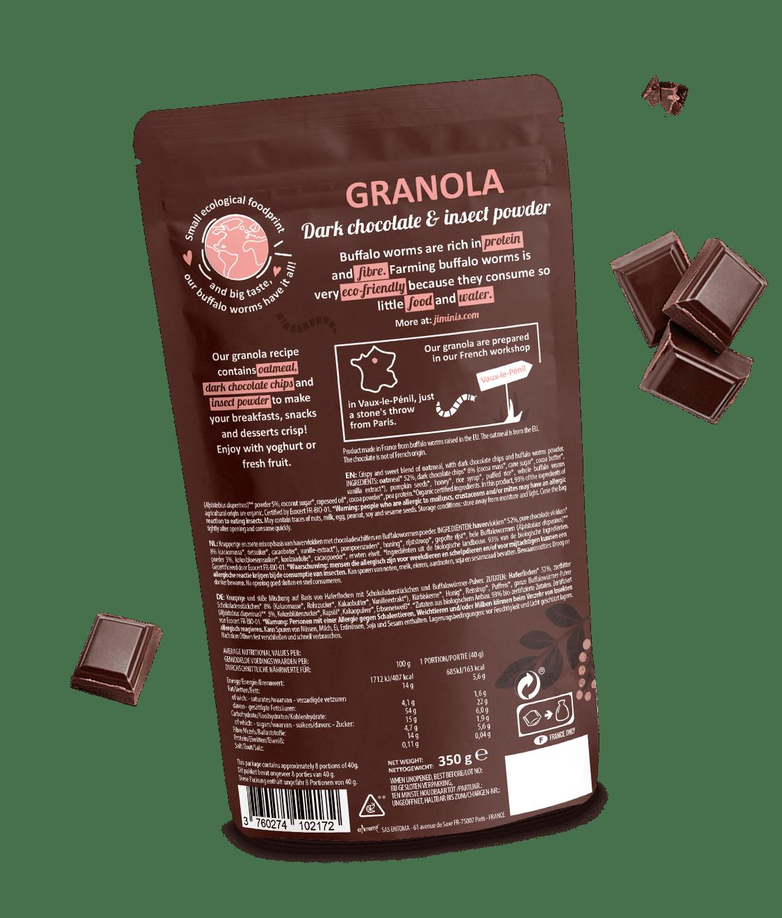 Granola Chocola Noir
