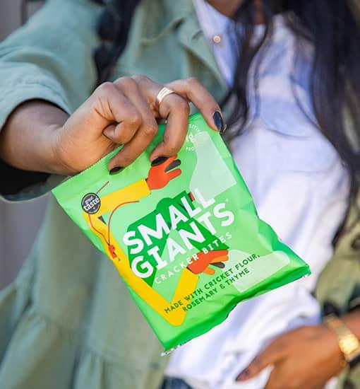 Des crackers sains et délicieux, respectueux de l'environnement