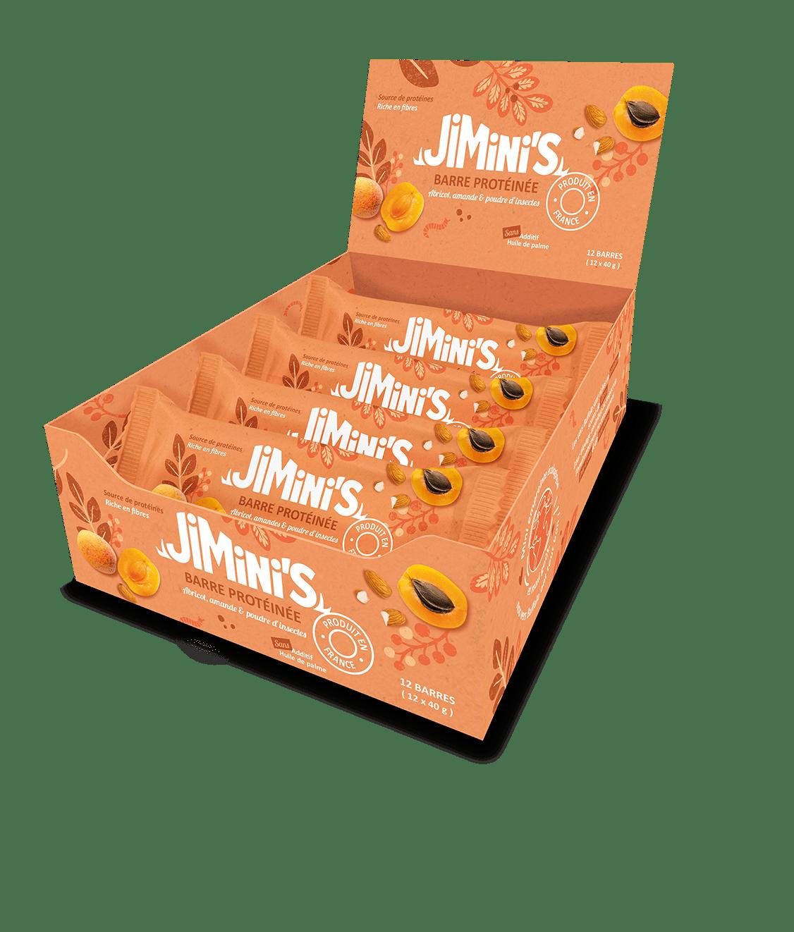 Barre Protéinée abricot amandes