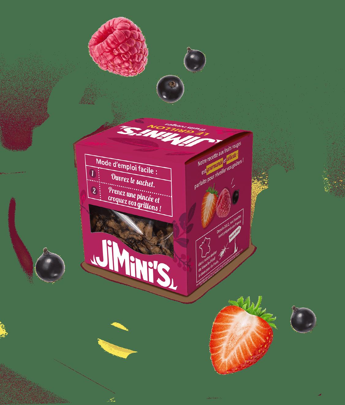 Le grillon fruits rouges