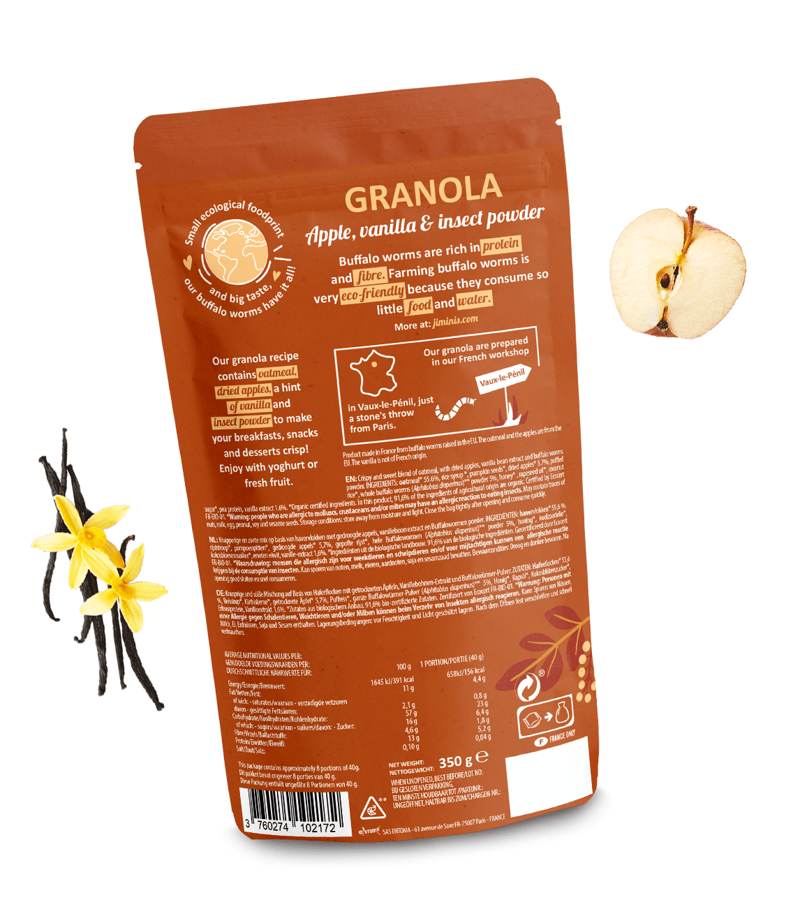 Granola Pomme & Vanille