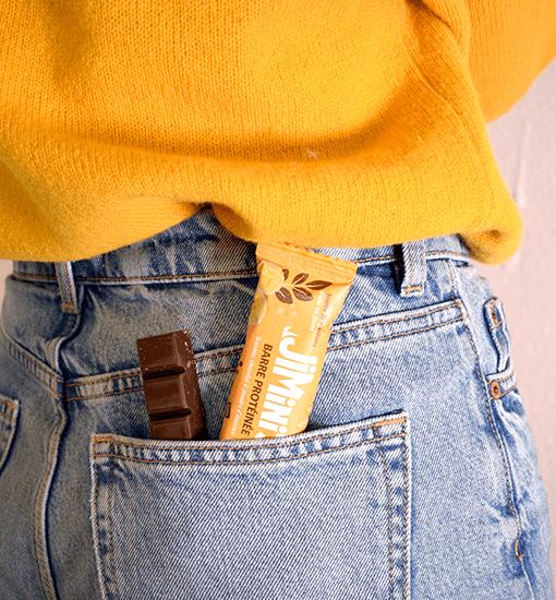 Régalez-vous et reprenez des forces avec notre barre protéinée banane et chocolat !