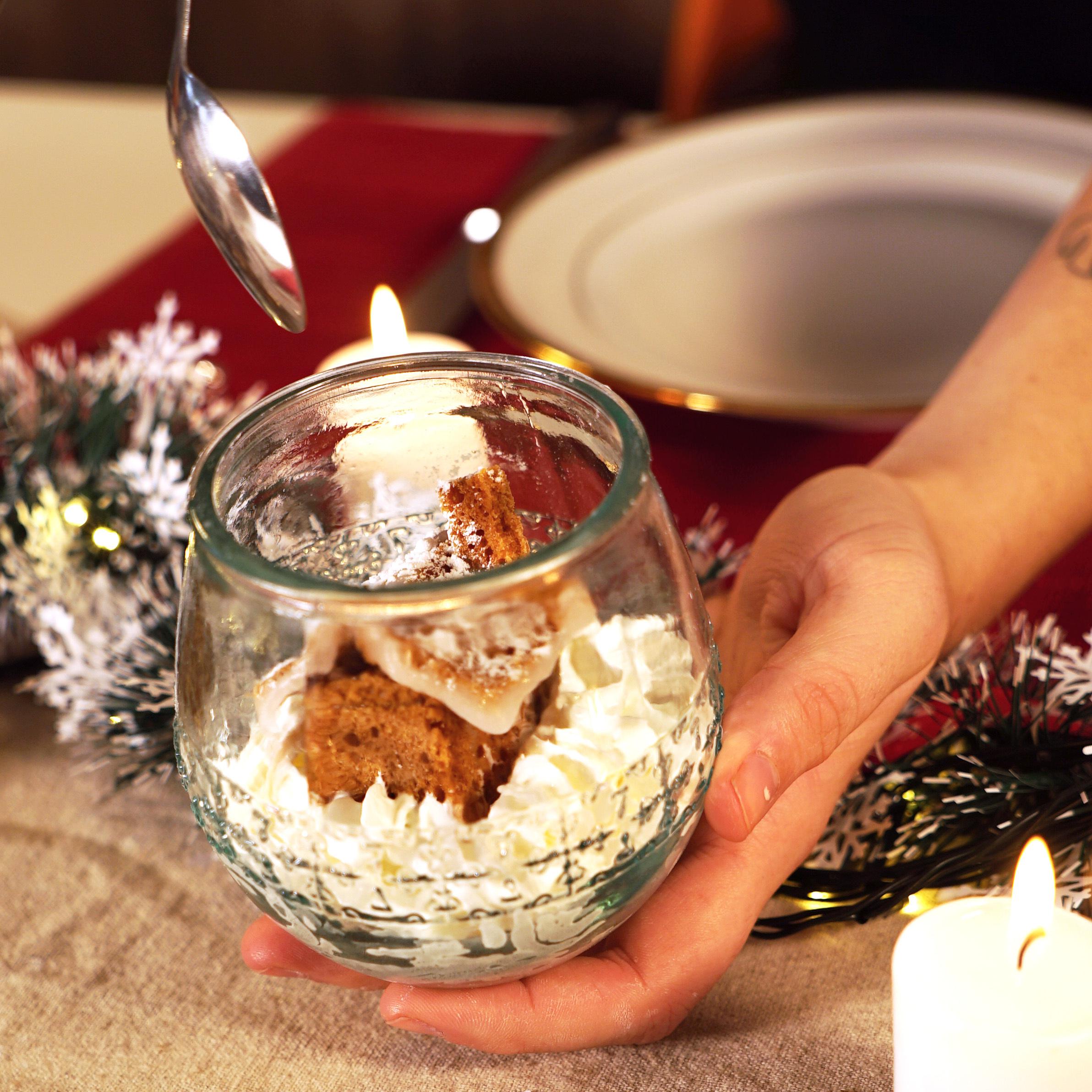 image de Boule de neige et pain d'épices aux Molitors Caramel au beurre salé