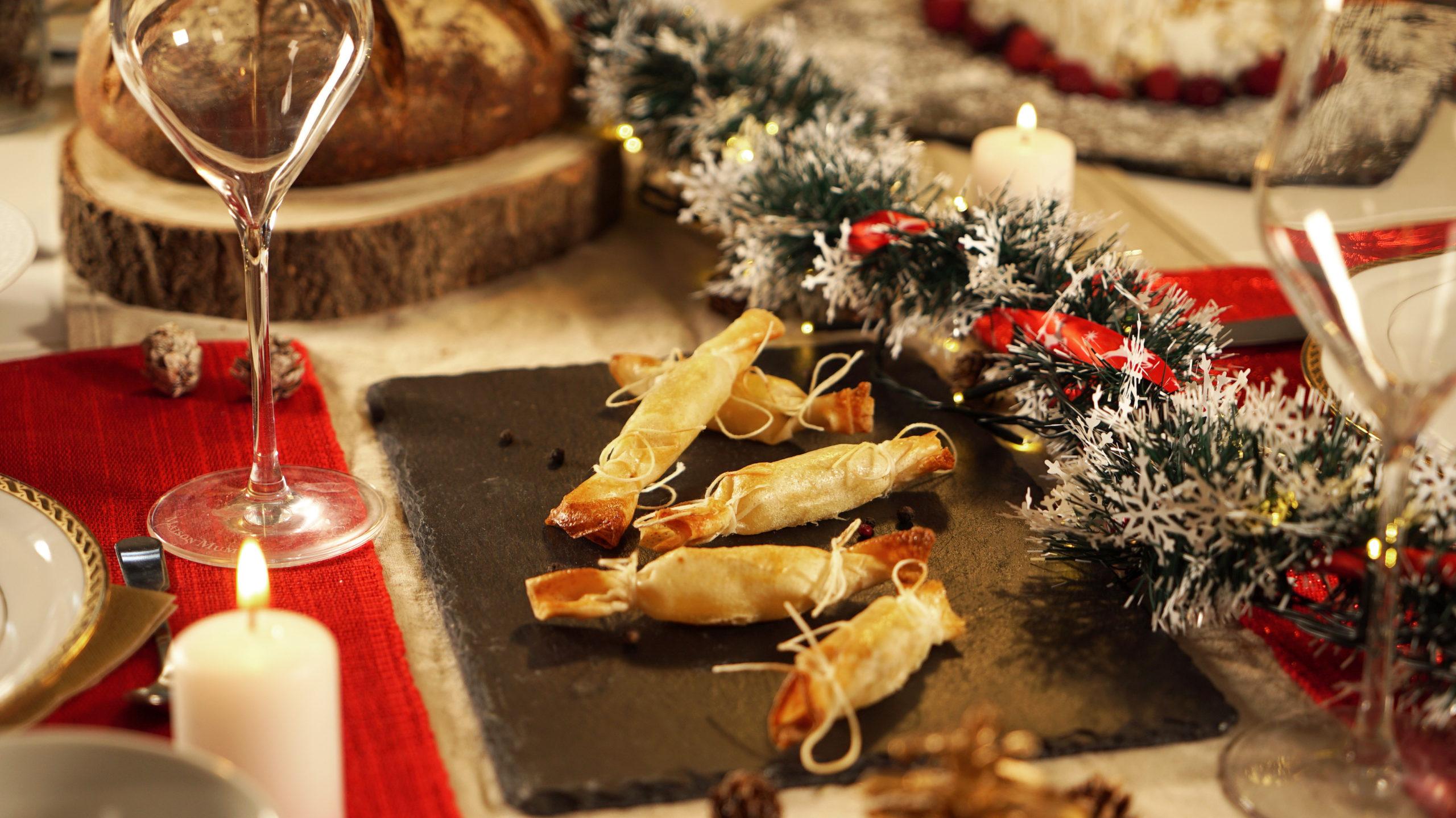 image de Les crackers au comté, pommes et Molitors comté pointe de muscade